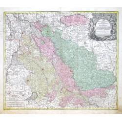 Mappa geographica, continens  Electoratum Coloniensem