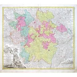 Mappa Geographica, in qua Ducatus Lothariangiae et Barr