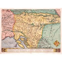 Balkan - Schlavoniae, Croatiae, Carniae, Istriae, Bosniae, finitimarumque regionum nova descriptio