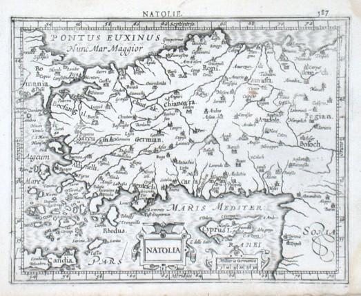 Natolia - Stará mapa