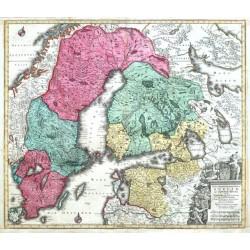 Nova Mappa Geographica Sueciae ac Gothiae Regna