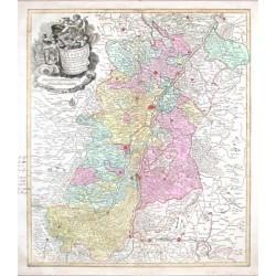 Superioris Atque Inferioris Alsatiae Tabula