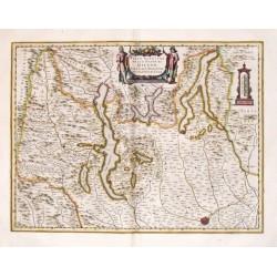 Parte Alpestre dello Stato di Milano, con il Lago Maggiore di Lugano, `e di Como