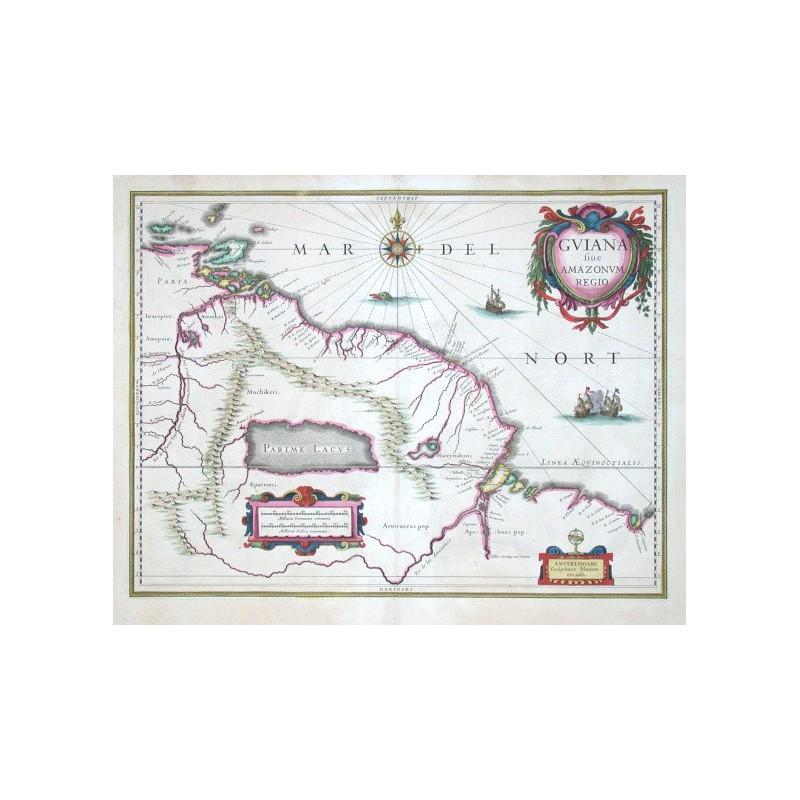 Guiana sive Amazonum regio