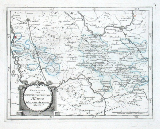 Des Erzstifts und Kurfürstenthums Maynz Südliche Aemter