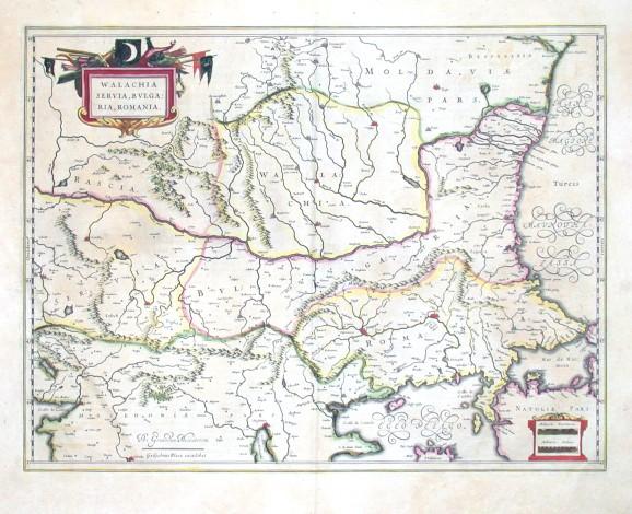 Walachia, Servia, Bvlgaria, Romania