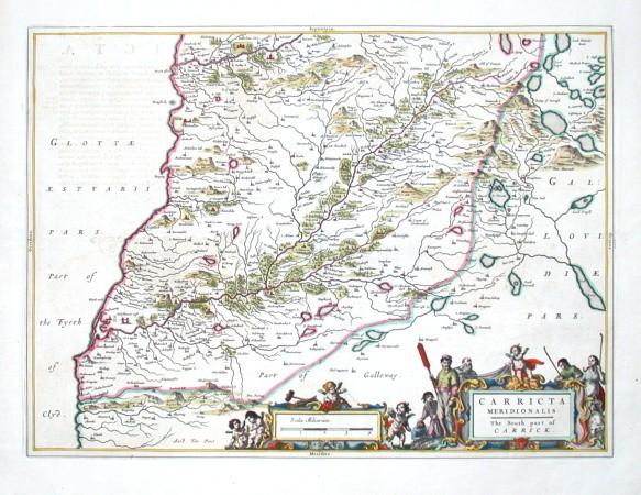 Carricta meridionalis - Stará mapa