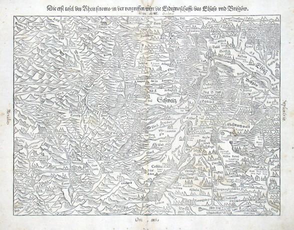 Die erste tafel des Rheinstromb