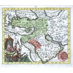 XXIX Haupt Karte Asiatische Turkey