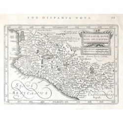 Hispaniae Novae nova descriptio