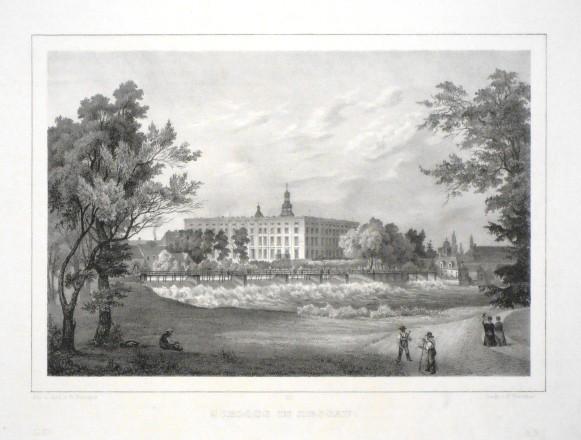 Schloss in Dessau - Stará mapa