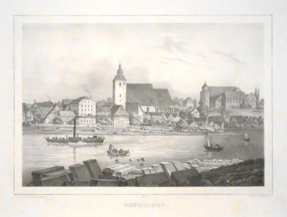 Havelberg - Stará mapa