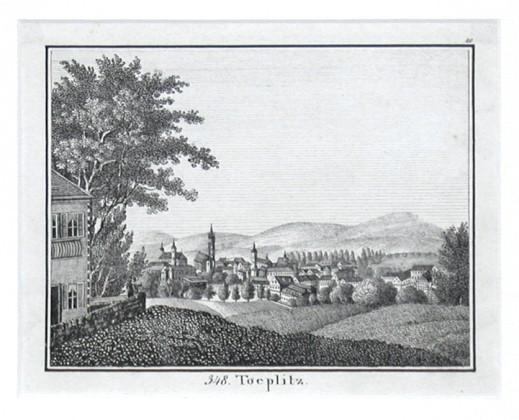 Toeplitz - Alte Landkarte