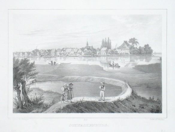 Schnackenburg - Alte Landkarte