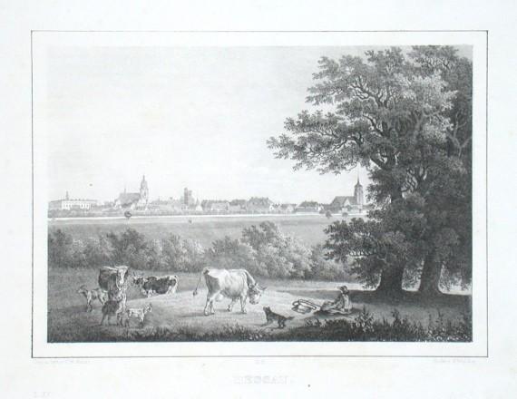 Dessau - Stará mapa
