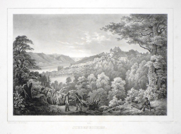 Siebeneichen - Alte Landkarte