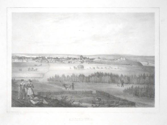 Arneburg - Stará mapa