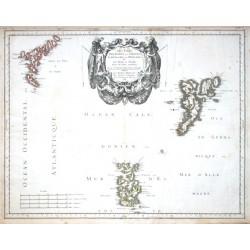 Les Isles Orcadney, ou Orkney - Schetland, ou Hetland - et de Fero, ou Farre tirees de divers memoires