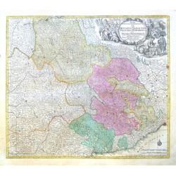 Savojsko, Piemont, Alpy - Regiae  in quo Ducatus Sabaudiae, Principat. Pedemontium ut et Ducatus Montisferrati