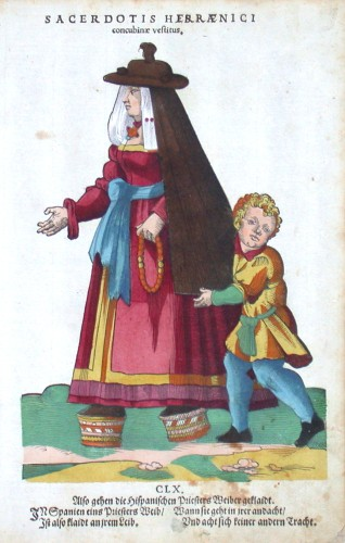 Sacerdotis Hispaenici concubine vestitus