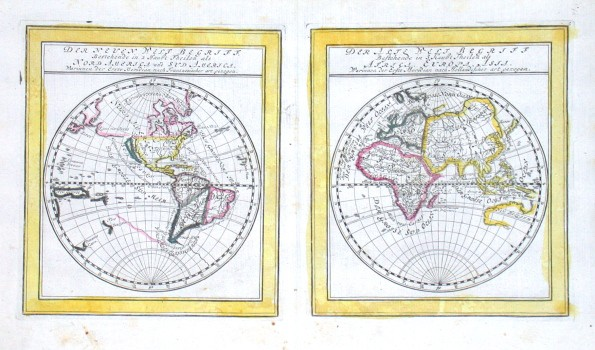 Der Neuen Welt Begriff. Bestehend in  Der Alte Welt Begriff bestehend in - Stará mapa
