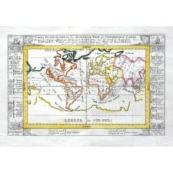 Carta Hydrohraphica oder Algemeine Welt und Commercien Carte