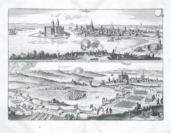 Wollgast - Alte Landkarte