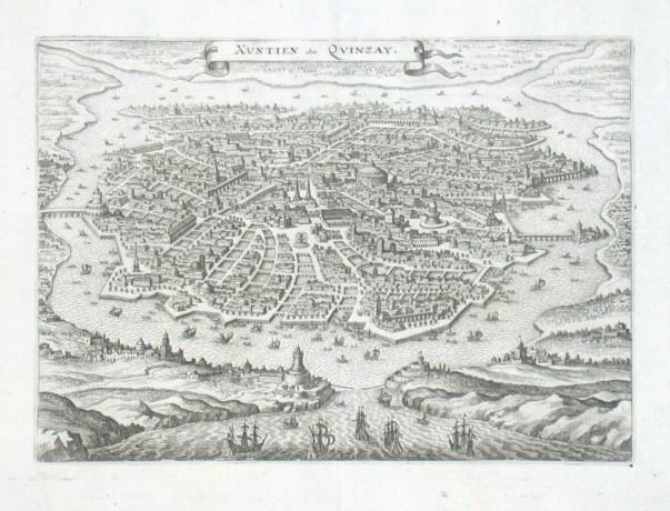 Xvtien alias Qvizay - Alte Landkarte