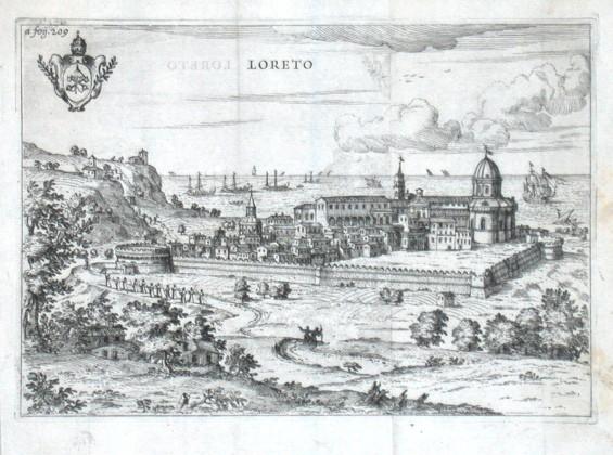 Loreto - Alte Landkarte