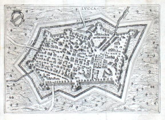 Lvcca - Alte Landkarte