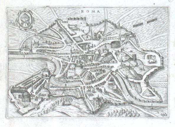 Roma - Stará mapa