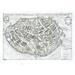 Viterbo citta metropoli della provincia del Patrimonio