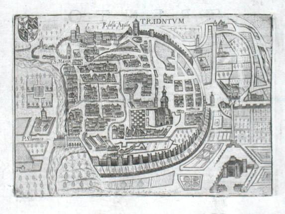 Tridntvm - Stará mapa