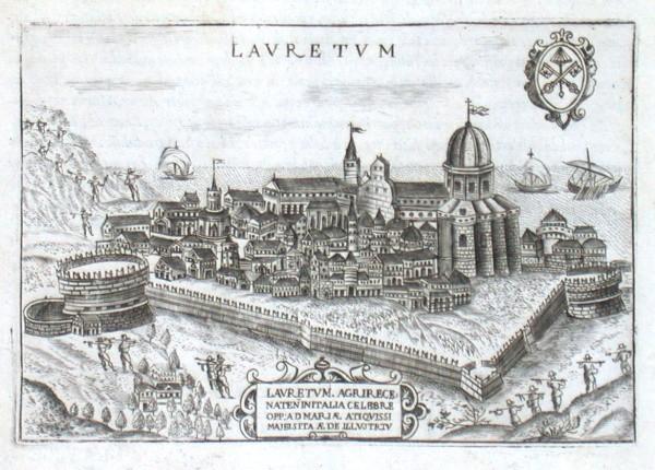 Lavretvm - Alte Landkarte