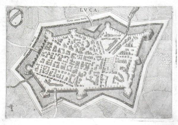 Lvca - Alte Landkarte