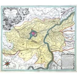 Mantua - Ducatus Mantuani quam catigatissima Delineatio