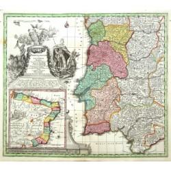 Portugal - Portugalliae et Algarbiae Regna