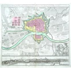 Plan der Hochfürstl. Residenz- und Haubt- Stadt Cassel in Nieder-Hesen