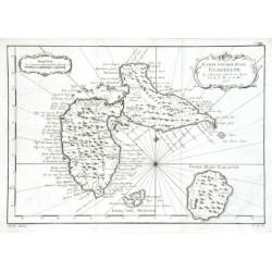 Karte von der Insel Guadelupe