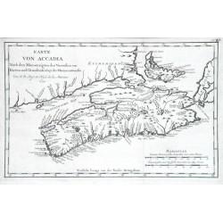 Karte von Accadia