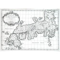 Karte von dem Reiche Japon