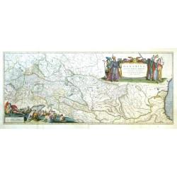 Danubius, fluvius Europae maximus, a fontibus ad ostia