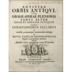 Notitiae Orbis Antiqvi