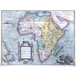 Afrika - Africae Tabula Nova