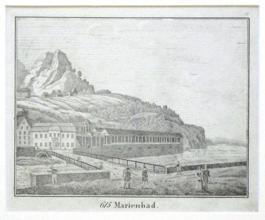 Marienbad - Stará mapa