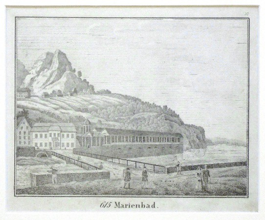 Marienbad - Alte Landkarte