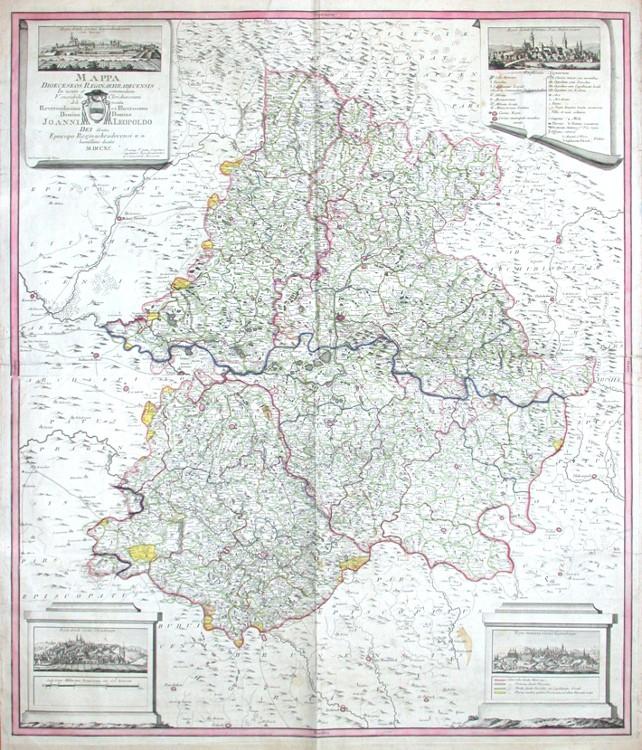 Mappa Dioeceseos Reginahradecensis