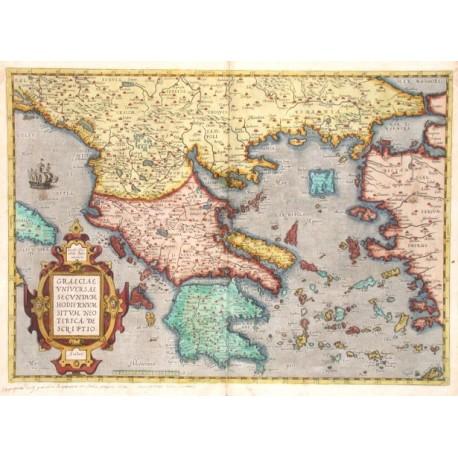 Graeciae universae secundum hodiernum situm neoterica descriptio