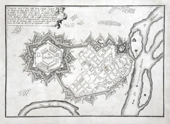 Casal - Stará mapa