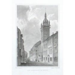 Das Rathhaus in Brünn